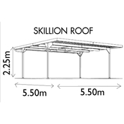 Carport  New Absco Double Skillion roof $1000 offers considered